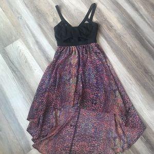 Dresses & Skirts - Flowing Hi-lo Cut-out Dress